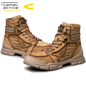 Image 5 - Camel Active Botines de piel auténtica para hombre, botas masculinas de alta calidad, a la moda, informales y cálidos, para invierno