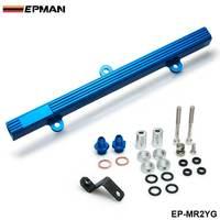 أداء الألومنيوم حقن حاقن الوقود عدة السكك الحديدية لتويوتا MR2 3S GTE الأزرق EP MR2YG-في مجموعة مدخل الوقود من السيارات والدراجات النارية على