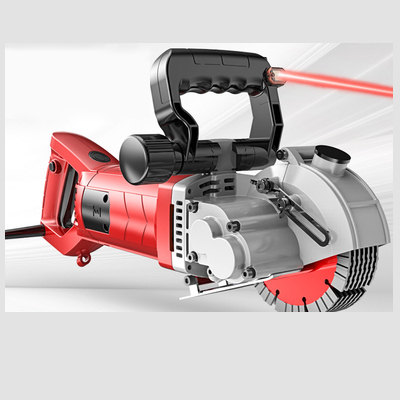 Electric Brick Wall Groove Cutting Machine 220V 4200-6000W Steel Concrete Cutter Slotting Machine DIY Home Decoration Grooving T