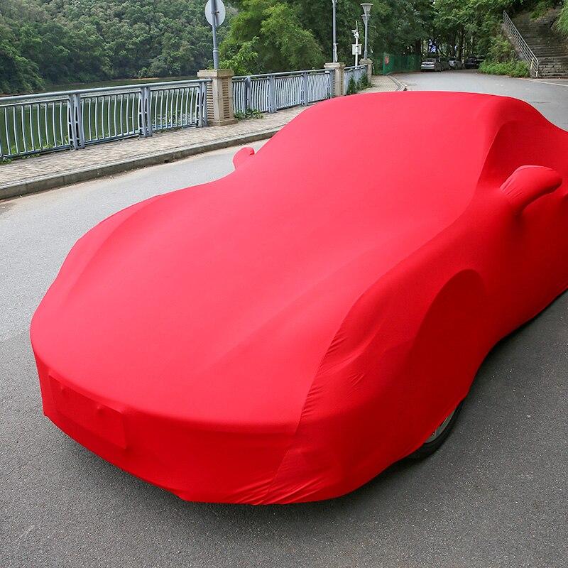 Housse de Protection complète de carrosserie en velours pour accessoires Porsche Macan 911 918 718