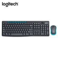Ogitech MK275 USB Drahtlose Tastatur 1000DPI Tastatur Wasserdicht mit Multimedia Funktion Schlüssel Optische Ergonomische PC Maus Combos