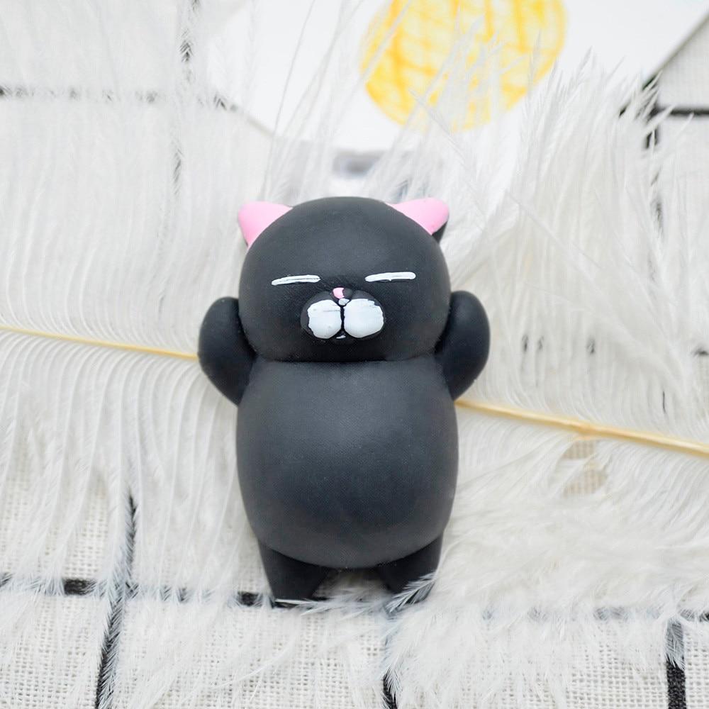 Fidget Toy Stress-Pack Mochi Squeeze Kawaii Squishy Reliever-Decor Fun Cute Cat Healing img5