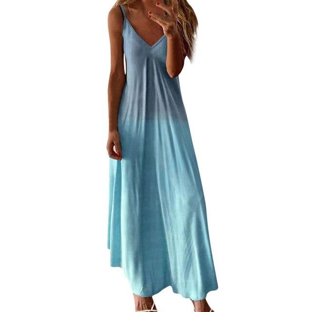 Boho Hippie Chic Long Dress 3