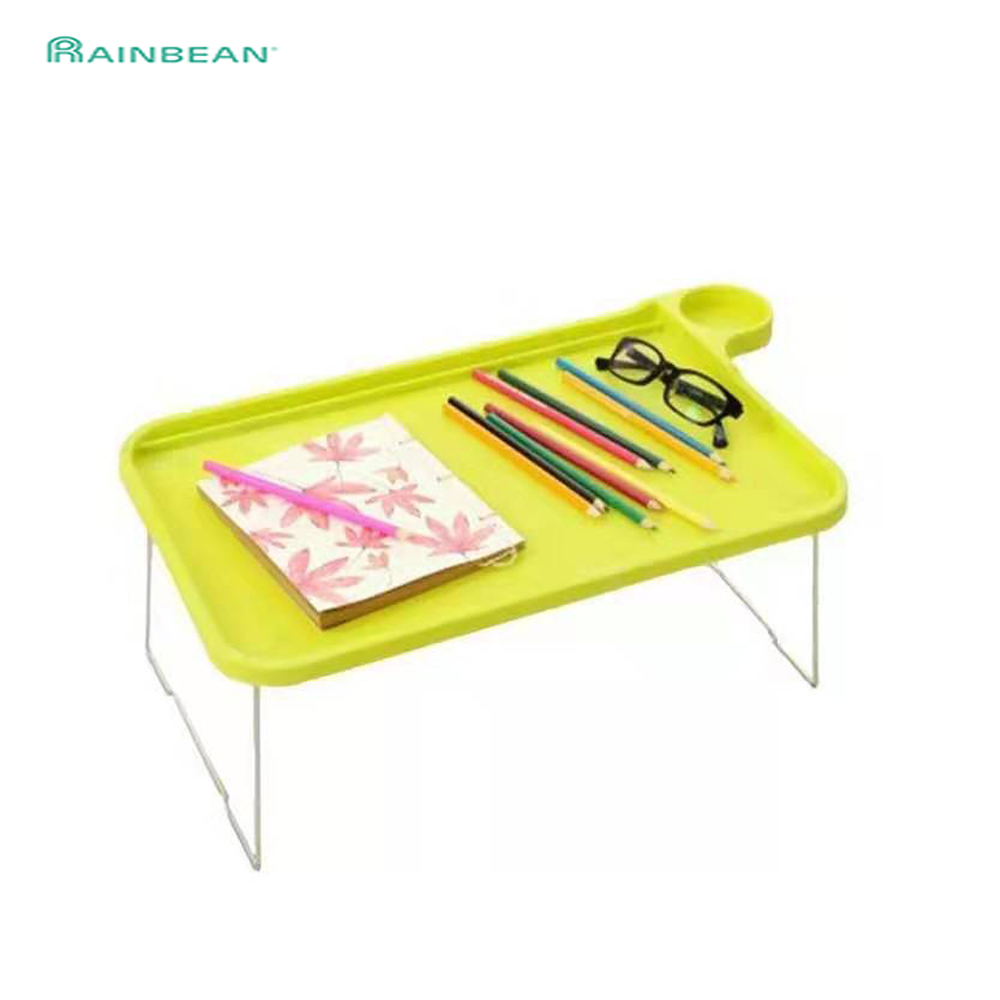 Lazy Plastic Folding Simple Small Laptop Desk Creative Lazy Bed Learning Foldable Computer Table