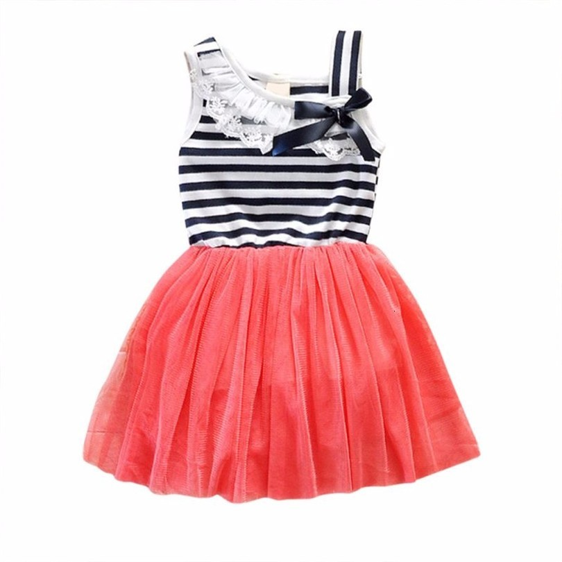 He0edaeb341304eefa7bb48c603800d1bE Kids Dresses Girls 2017 New Fashion Sweater Cotton Flower Shirt Short Summer T-shirt Vest Big For Maotou Beach Party Dress