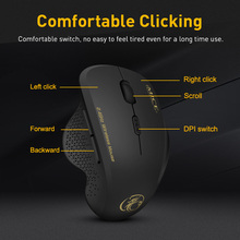 Ergonomic Computer Wireless Mouse