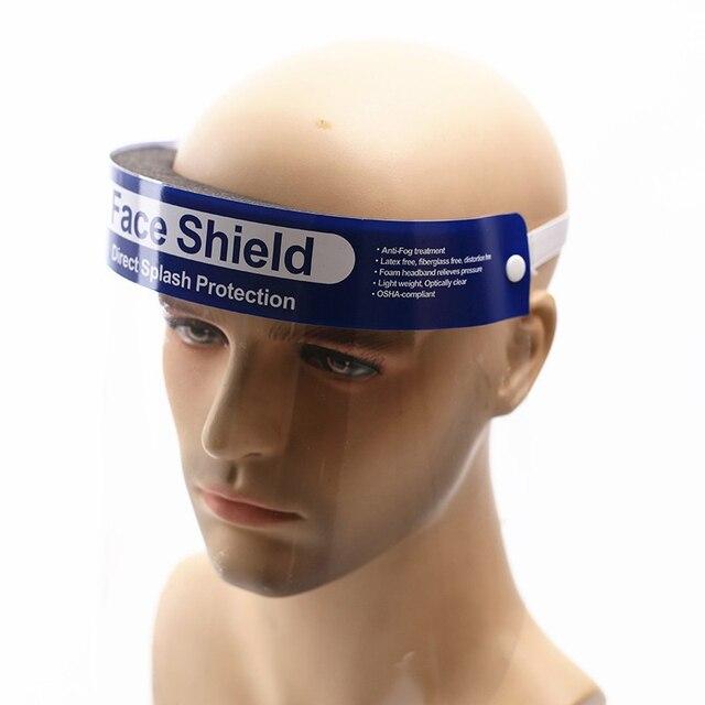 5/10pcs Creative protective face mask shield Kitchen Oil-Splash Proof Safety Mask Transparent Virus protection full face mask 2