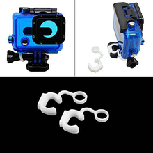 Shackles White for Gopro Hero/4/3-Anti-Drop Damping Lock-Plug Catches Fasten Camera-Accessories