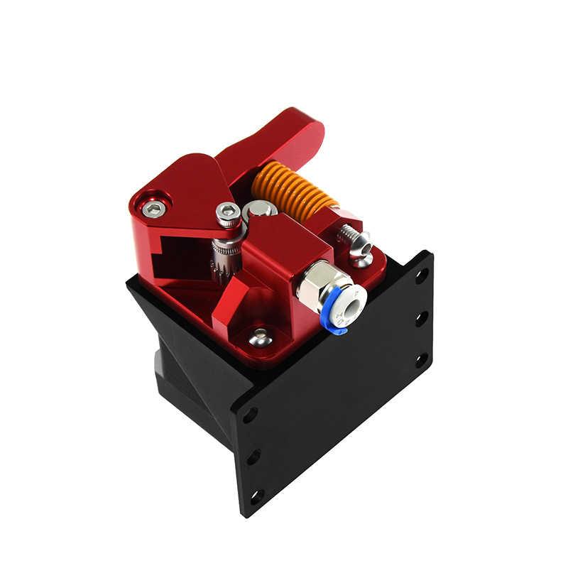 Cavis Cr10 Pro Aluminium Upgrade Doppel Zahnrad Extruder Kit f/ür Cr10S Pro Reprap Prusa I3 1,75 Mm Antrieb Vorschub Doppel Rollen Extruder