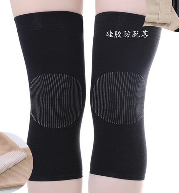 Ultralight Elastic Breathable Knee Pads Ultra-Thin No Trace Hidden Warm Knee Pads Old Cold Legs Self-Heating Knee Sleeve