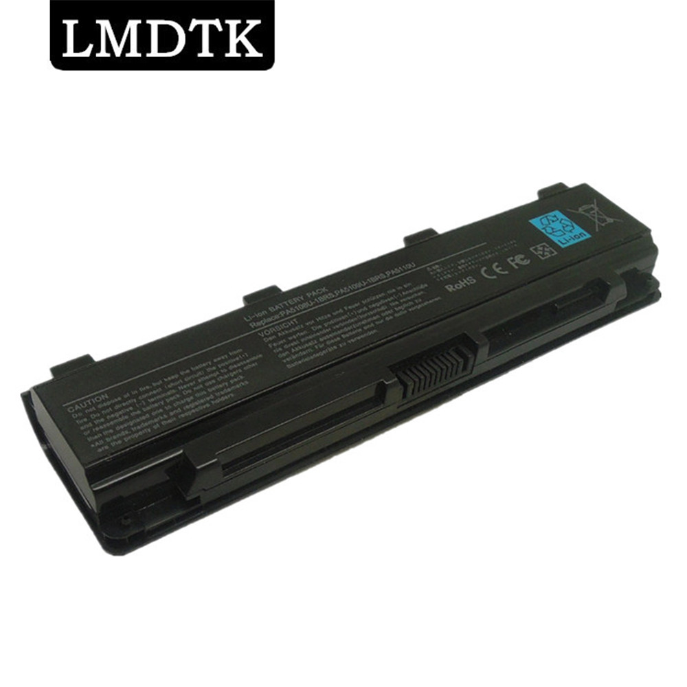 LMDTK New 6 Cells Laptop Battery  PA5108U-1BRS PA5109U-1BRS PA5110U-1BRS  For Toshiba C40 C45 C50 Satellite C55 C70 C75 Series