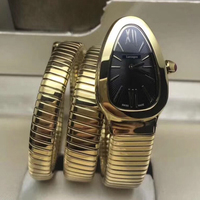 Luxury barnd watch top quality quartz women watches gold case black dial AAA quality stainless steel bracelet ladies gifts