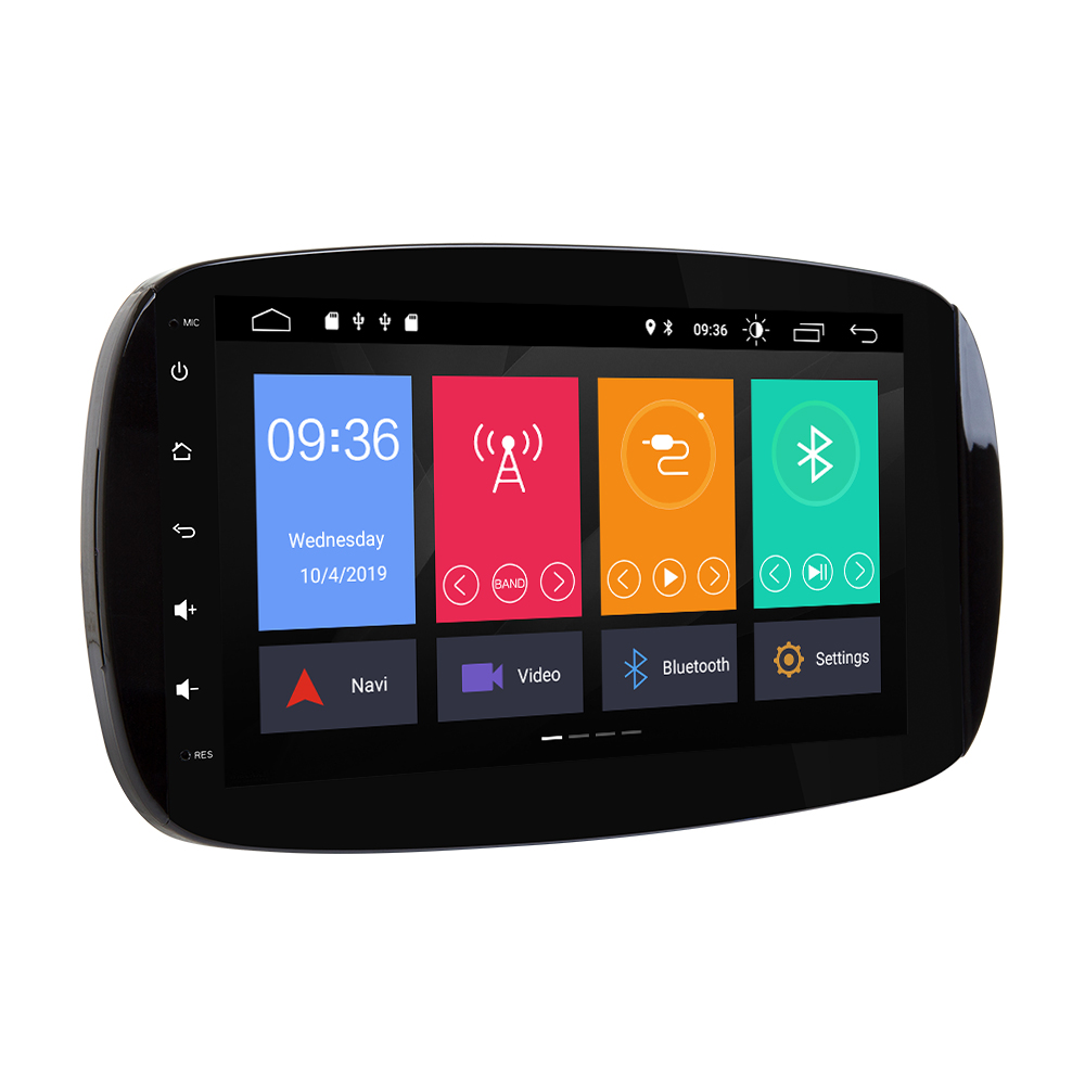 IPS doppel 2 din Android 10 Auto Radio multimedia Player Für Mercedes/Benz Smart Fortwo 2016 2017 2018 GPS navigation stereo JBL