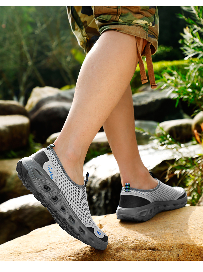 He0ef5294cf1448b3b8ffb07fc7bf887fZ UEXIA Big Plus Size Shoes Unisex Summer Sneakers Light Breathable Casual Shoes Couple Fashion Comfortable Mens Mesh Flats Shoe