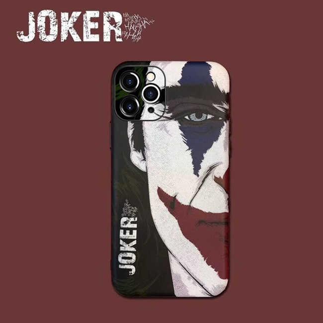 Joker telefonu kılıfı iphone 11 Pro 7 8 11pro X XS Max 6 s 6 S 7 8 artı kapak Coque Funda iphone XR SE2020 Apple Marvels kılıfı
