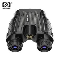 APEXEL Professional Binoculars Kids 10X25 Mini Telescope Prism High Powered Binoculars Mini Hunting Telescope Scope Sports 2020