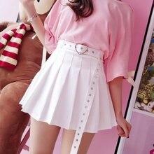 New Summer Skirt Short Skirt 2021 Korean Student Wild High Waist Pleated Skirt