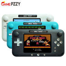 2019 newest 4 Inch big Screen Retro Handheld Game Console Portable video Game Player for Nes Games HDMI Out Rechargeable