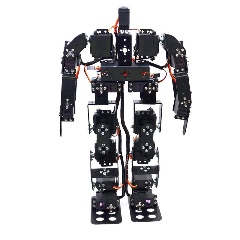 17DOF Biped робот образовательный робот набор 17 степеней свободы гуманоид/гуманоиды ходьба/ноги кронштейн комплект
