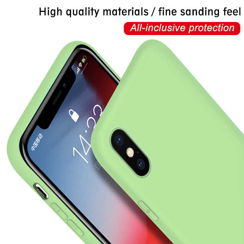 الملونة ماتي غطاء إطار هاتف محمول ل iphone XS ماكس XR X 10 8 6 6S 7 زائد TPU سيليكون خزائن هاتف آيفون 11 برو ماكس 5 5S SE الوفير