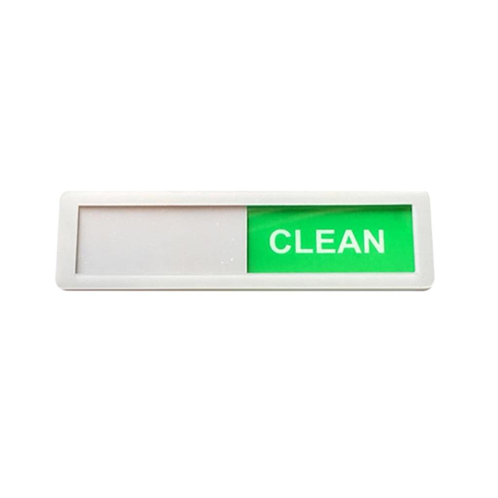 Dicas de limpeza do quarto sinais de limpeza hotel sinais magnéticos acrílico máquina de lavar louça ímã limpo sujo sinal decoração do quarto casa