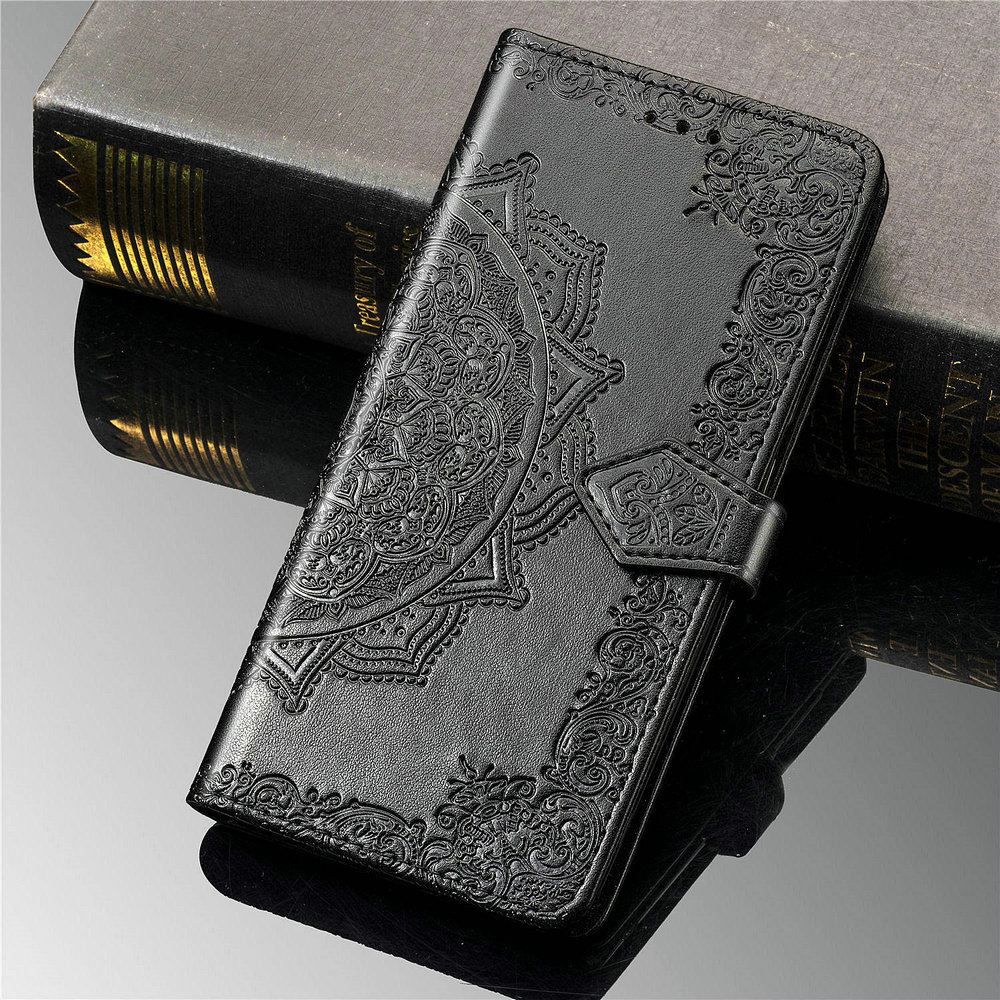 For <font><b>OPPO</b></font> <font><b>Find</b></font> X2 Pro <font><b>X</b></font> 2 Case Luxury Leather 3D Mandala Wallet Shell Phone <font><b>Cover</b></font> <font><b>Find</b></font> X2 Neo <font><b>Flip</b></font> Case <font><b>Find</b></font> X2 Lite 2X X2Neo image