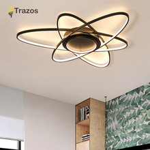 Acrylic Modern Led Ceiling Lights For Living Room Bedroom Dining Home Indoor Lamp Lighting Fixtures AC85-260V Luminaria Lampada