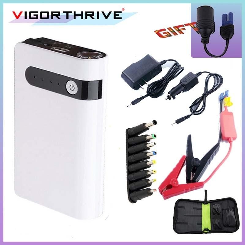 Car Jump Starter 12V Vehicle Battery Charger Startup Power For Car Batttery Booster Buster Portable Power Bank Mini Emergency