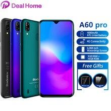 """Blackview A60 Pro 6.088 """"Waterdrop écran téléphone Mobile Android 9.0 4080mAh MTK6761 double Rears caméras 4G téléphone portable"""