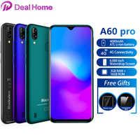 """Blackview A60 Pro 6.088 """"Waterdrop Dello Schermo Del Telefono Mobile Android 9.0 4080mAh MTK6761 Dual Posteriori Telecamere 4G Cellulare"""