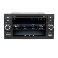 7 pouces Android 8.1 2 + 32G GPS Navigation 2 DIN voiture lecteur DVD Radio pour Ford Mondeo Focus C-MAX galaxie Fiesta forme Fusion(China)