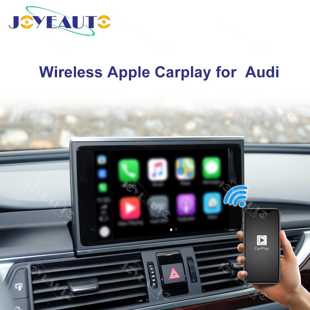 Joyeauto Wireless Apple Carplay For Audi A1 A3 A4 A5 A6 A7 A8 Q3 Q5 Q7 C6 MMI 3G/2G RMC 2005-2018 iOS13/Android Mirror Car Play(China)