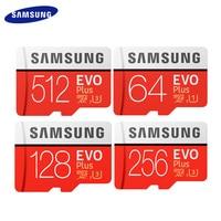 SAMSUNG Original 512GB 256GB 128GB 64GB EVO Plus Micro SD Karte Bis zu 95 MB/s Flash karte Speicher Karte Mit Adapter TF Karte