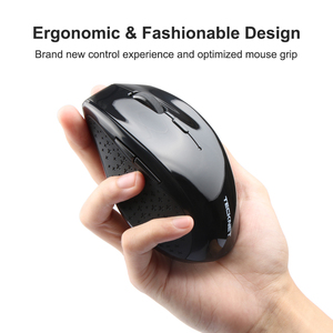 Image 3 - TeckNet Alpha Ergonomic Mice 2.4GHz Wireless Mouse Silent Button with USB Nano Receiver for Laptop Computer 3000/2000/1600/1200