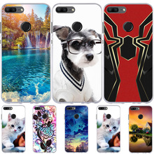 Huawei Honor 9 Lite Case Silicone TPU Cover For Cute Cat Dog Fundas Huawe Cases