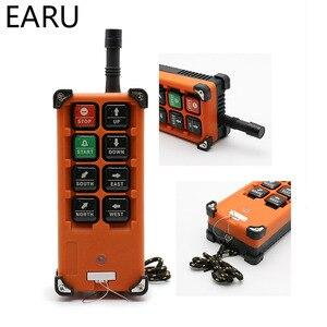 Image 2 - 220V 380V 110V 12V 24V przemysłowe przełączniki zdalnego sterowania dźwig dźwig dźwigu 1 nadajnik + 1 odbiornik F21 E1B
