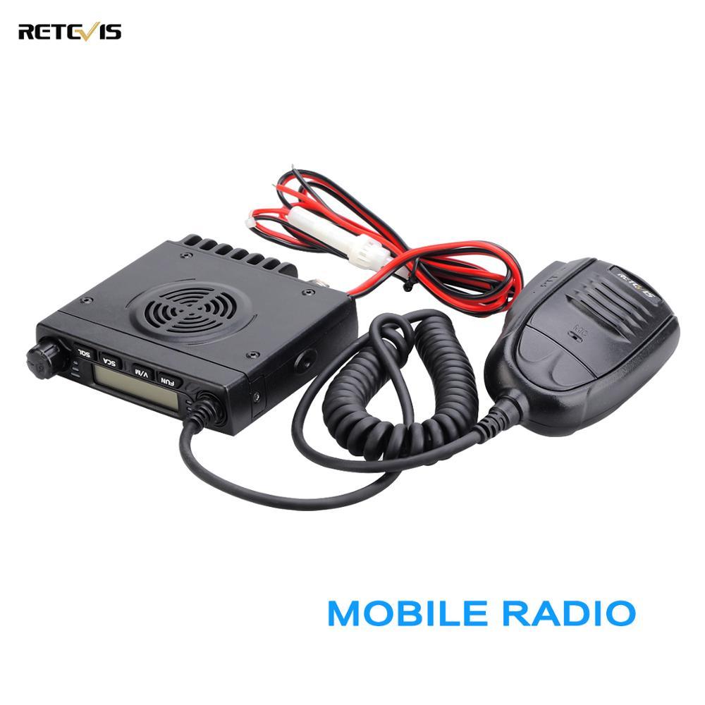 RETEVIS RT98 Mobile Radio Car Walkie-Talkie VHF ( Or UHF ) 15W 199CH Two-way Radio Ham Radio LCD Display Car Radio Transceiver
