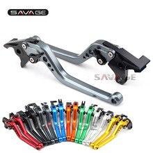Leviers d'embrayage de frein longs pour SUZUKI GSF 650 BANDIT 1200/1250 accessoires de Moto GSX 650F GSX1250FA GSX1400 pièces détachées Moto