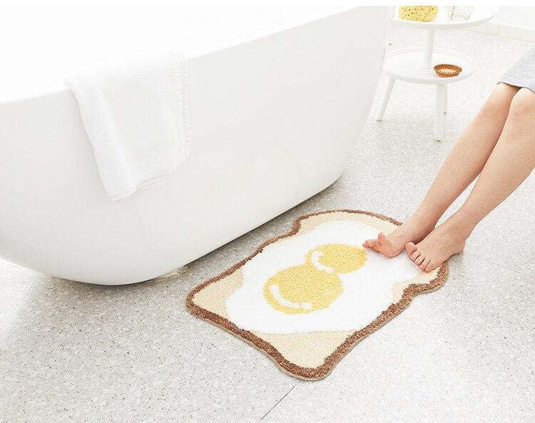 Toast-Egg-Bathroom-Rug-Entrance-Carpet-Area-Rugs-Bathmat-Rug-Anti-Slip-Floor-Mats-Nordic-Welcome-Doormat-Chic-Home-Room-Decor-07