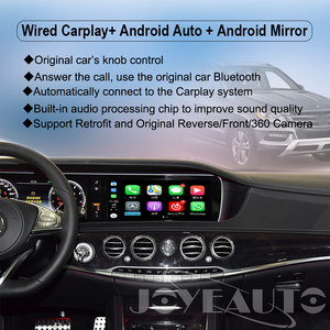 Image 3 - Joyeauto אלחוטי Apple Carplay רכב לשחק Retrofit S Class 15 19 NTG 5 W222 עבור מרצדס אנדרואיד אוטומטי שיקוף אחורי מול CM