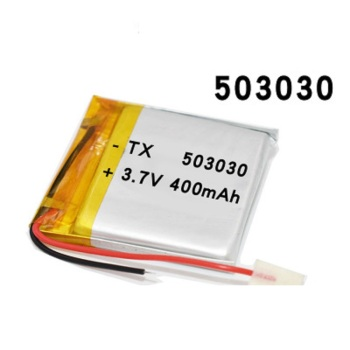2020 New Li Ion Polymer Battery For Smart Watch GPS Game Player Power Bank Humidifier Mice 3.7v 503030 400mAh Bateria