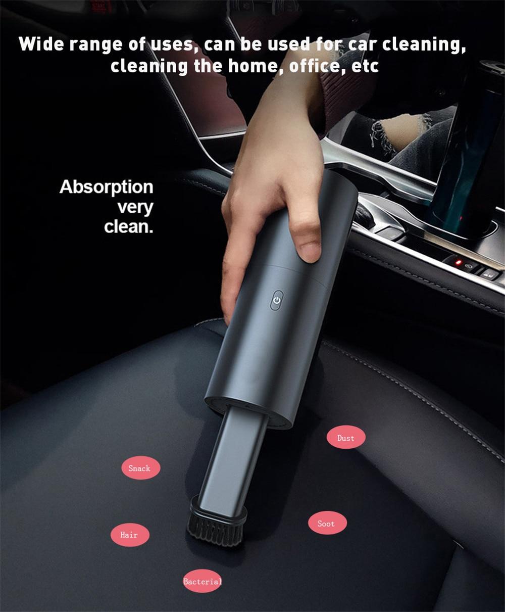 Портативный беспроводной автомобильный пылесос ручной пылесос Авто влажный сухой двойной аспиратор пылесос для офиса автомобиля