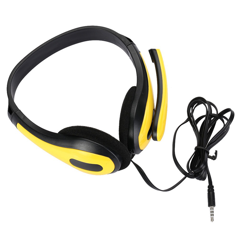 Fashion Gaming Headphones Portable Stereo Bass High Quality Earphone With Mic For PC Computer Gamer MP3 Player