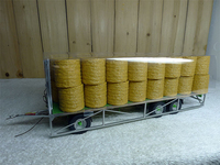 rare Special Offer 1:32 5225 TR10000T20 Grass tow bucket Metal trawl Tractor accessories Farm Alloy Collection Model
