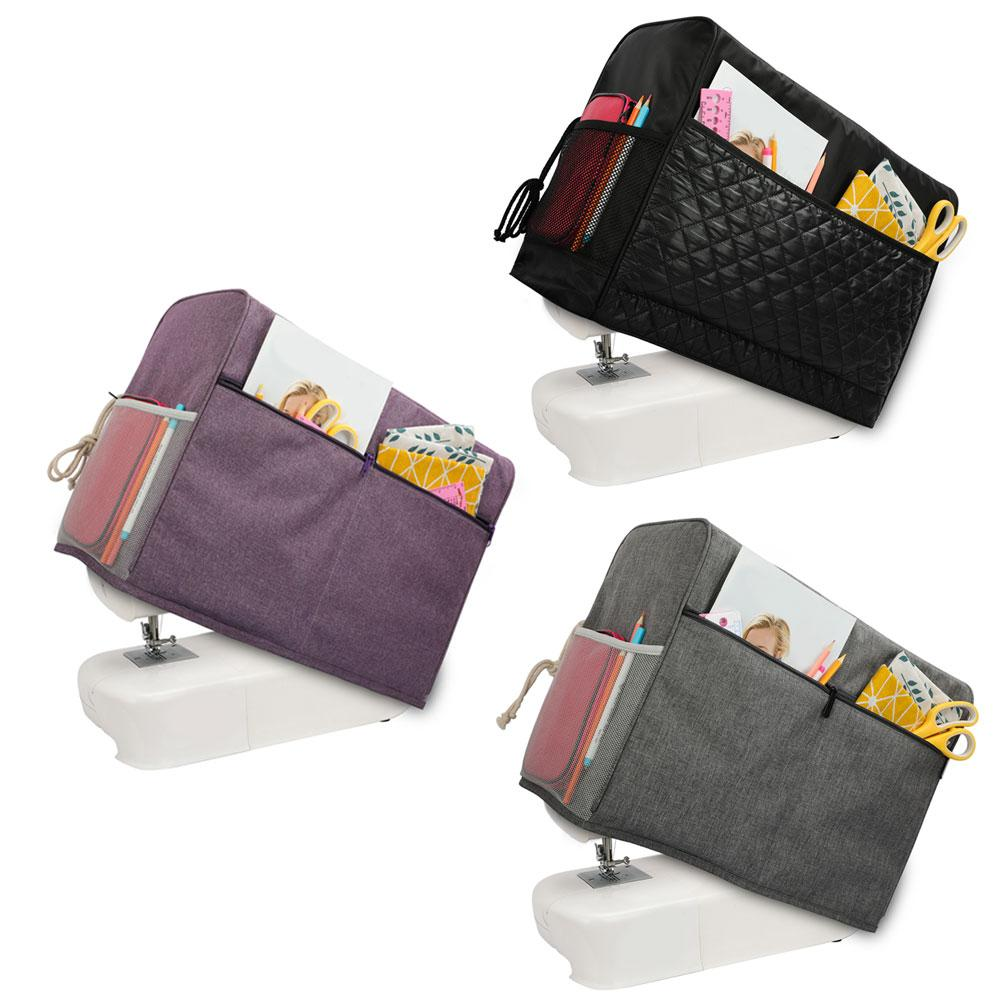 Sewing Box Dust Protective Cover Costurero Organizador Cloth Storage Bag With Pockets For Sewing Machine And Accessories