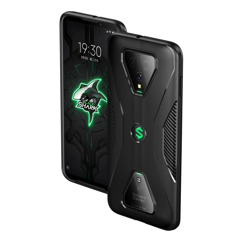 For Xiaomi Black Shark 3 Case Black Shark 3 Pro Soft TPU Back Cover Shockproof Bumper Carbon Fiber Phone Case For Black Shark 3