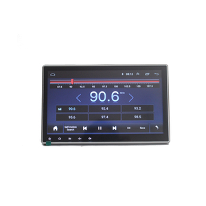 Zhuiheng вращающийся 4G Интернет 2G 32G 1 din автомобильный радиоприемник для универсального автомобильного dvd-плеера GPS навигация автомобильный ауд...