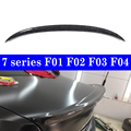 Реальный Спойлеры из углеродного волокна для BMW F01 F02 F03 F04 7-Series сзади загрузки багажник спойлер 760Li 750Li 740Li 2009-2015