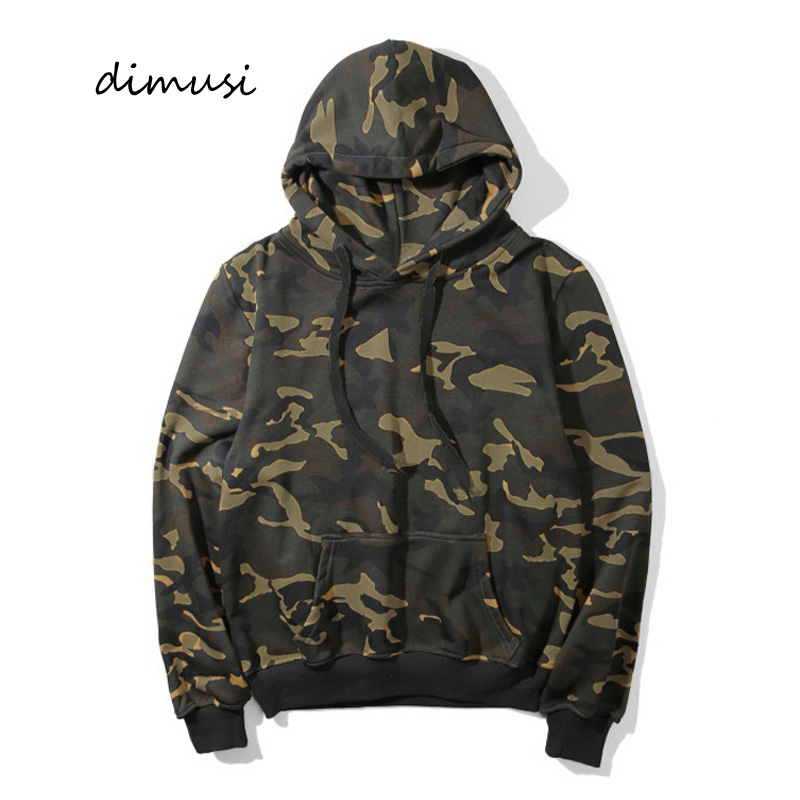 DIMUSI Mens Hoodies Fashion Men Army Camouflage Windbreaker Hooded Coats Man Loose Hip Hop Sportswear Tracksuits Jackets 3XL