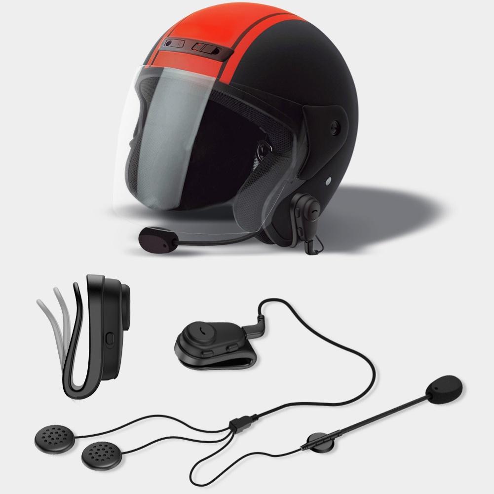 Waterproof Motorcycle Bluetooth Wireless Anti-interference Helmet Headset Hands-free Bluetooth V4.2 Motorcycle Intercom
